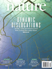 "Nature Cover ""Dynamic Dislocations"""