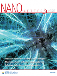 Nano Letters journal cover