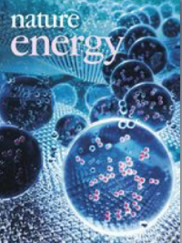 Nature Energy journal cover