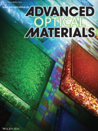 Advanced Optical Materials journal cover