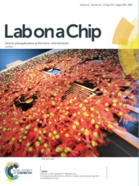 Lab on a CHip journal cover