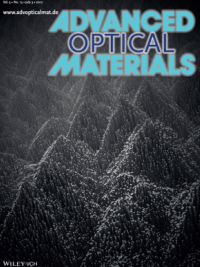 Advanced Materials journal cover