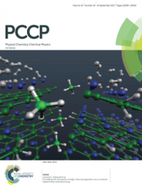 Physical Chemistry Chemical Physics journal cover