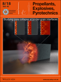 A shock‐induced reaction in a heterogeneous solid explosive
