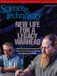 October-November 2018 Science & Technology Review cover