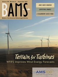 Journal cover with image of wind turbines
