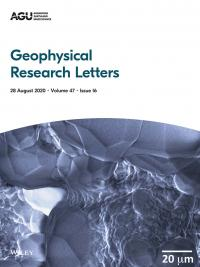 Geophysical Research Letters cover