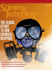 August 2020 Science & Technology Review cover