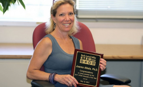 Joanna Albala was named the STEM Advocate of the Year