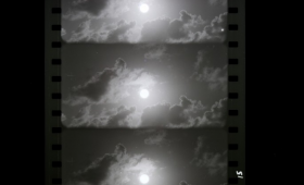 Stills from film of nuclear test