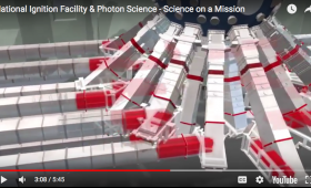Video screen capture of National Ignition Facility