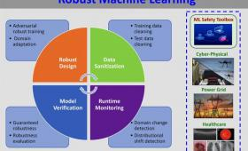 PowerPoint slide explaining robust machine learning